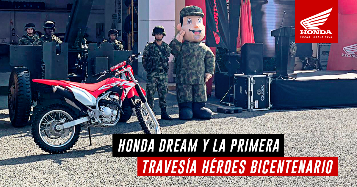 Honda Dream Cali y las FFMM