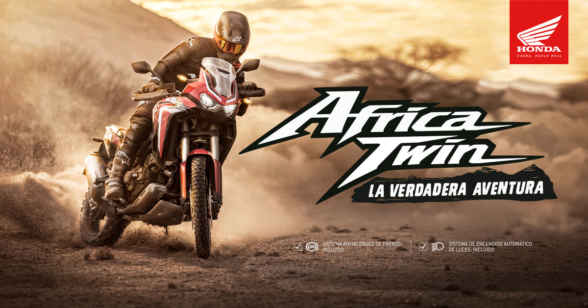 Lanzamiento Africa Twin CRF 1100L 2020